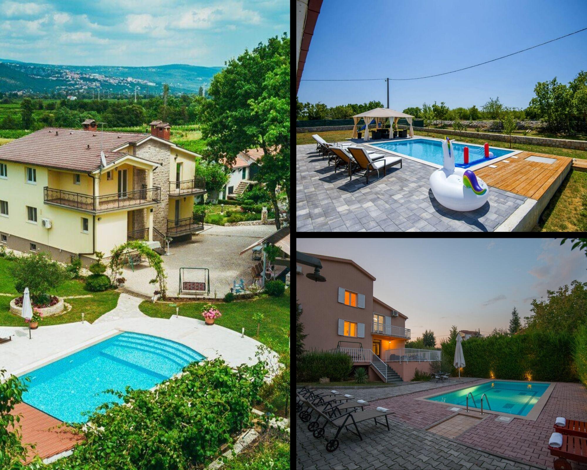 Imotski – Villen mit privatem Pool